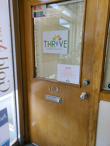 Inside office of Thrive Counseling Downtown