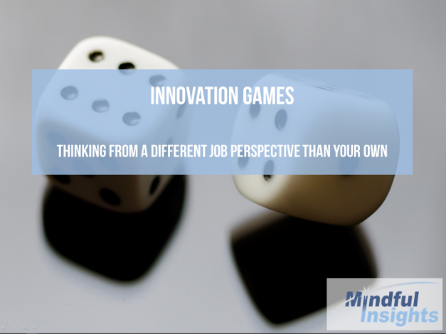 Innovation Games - different jobs