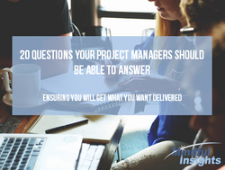 20 questions for Project Managers