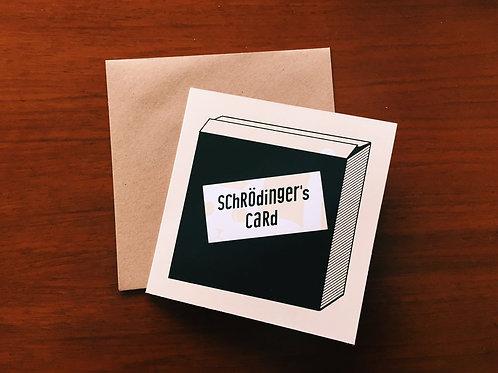 Schrödinger's card