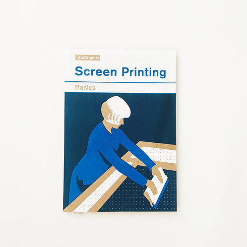 Ottographic    Screen printed instruction manual
