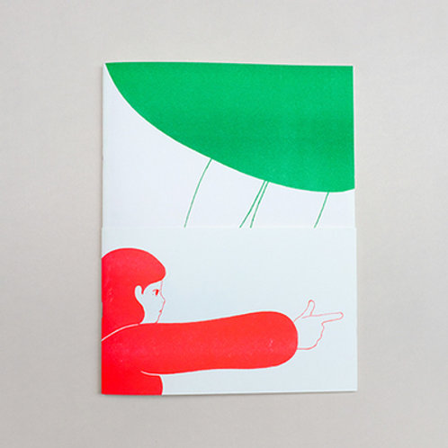 《红绿女孩 GREEN & RED GIRL》ZINE