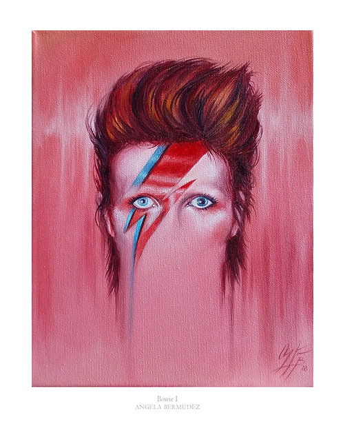 Bowie Luster Print