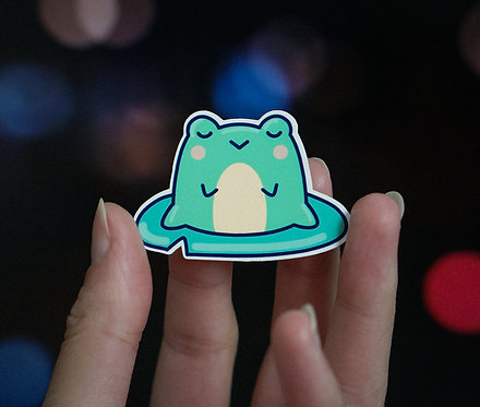 Froggy, Vinyl Stickers