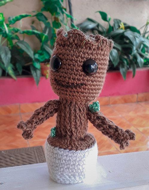Baby Groot Crocheted