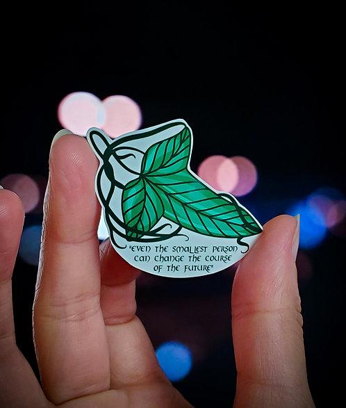LOTR Leaf - Quote