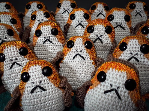 Crocheted Porgs