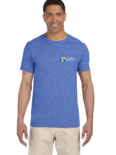 Adult T-shirt embroidered