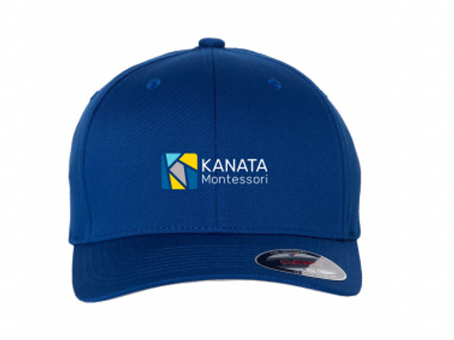 Youth Cap Royal Blue Flexfit Embroidered