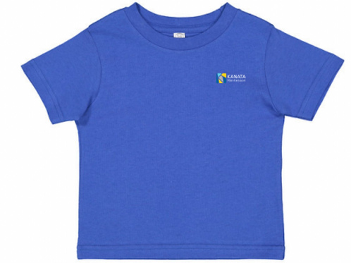 Toddler T-shirt Embroidered