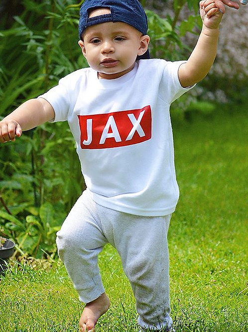 Jax Custom Name Tee