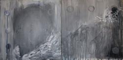 Genre Painting: man and landscape