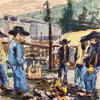 Commission: Cowboy Coffee
