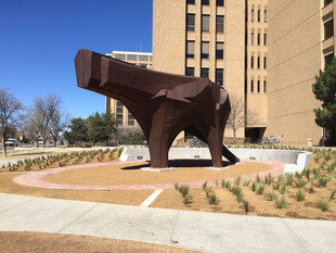 Sculpture by Robert Bruno added to the Texas Tech University Public Art Collection