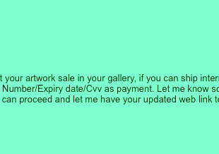 Artwork Needed: Scams and the Emerging Artist