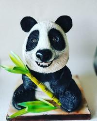 panda celebration party cake
