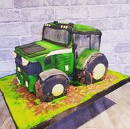 tractor birthday party celebration cake billingshurst