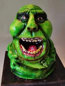 slime birthday party celebration cake billingshurst