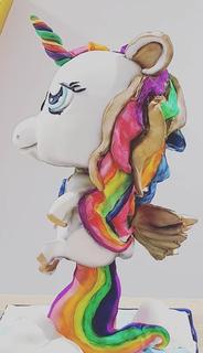 unicorn birthday party celebration cake billingshurst