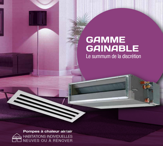 Gamme Gainable