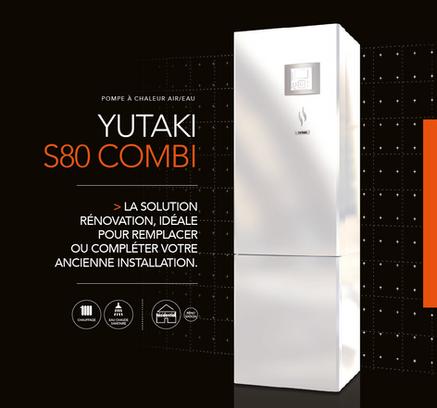 PAC AIR/EAU Yutaki S80 - Hitachi