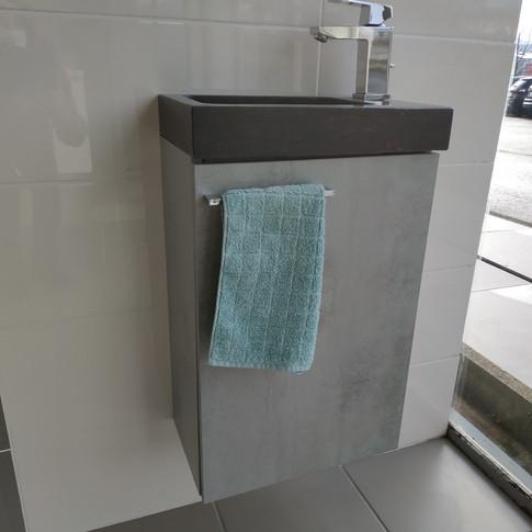Lave mains Pop avec meuble et bonde 295€ TTC