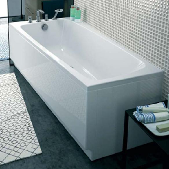Contour de baignoire amazing contour de baignoire with - Comment fixer un tablier de baignoire ...