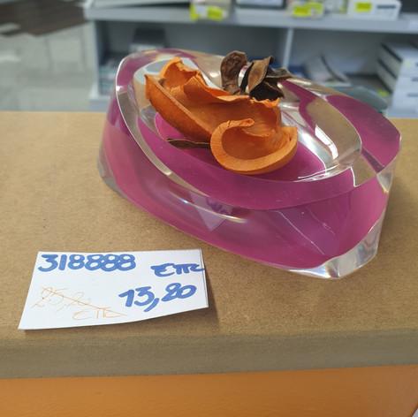 Porte Savon Twist Rubis - 13.20€ TTC
