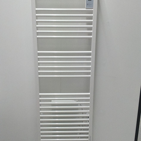 Sèche serviette  Doris digital ventillo  750+1000W blanc - 313€ttc