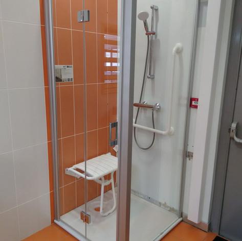Porte et paroi douche Liga 90cm - 500 €ttc