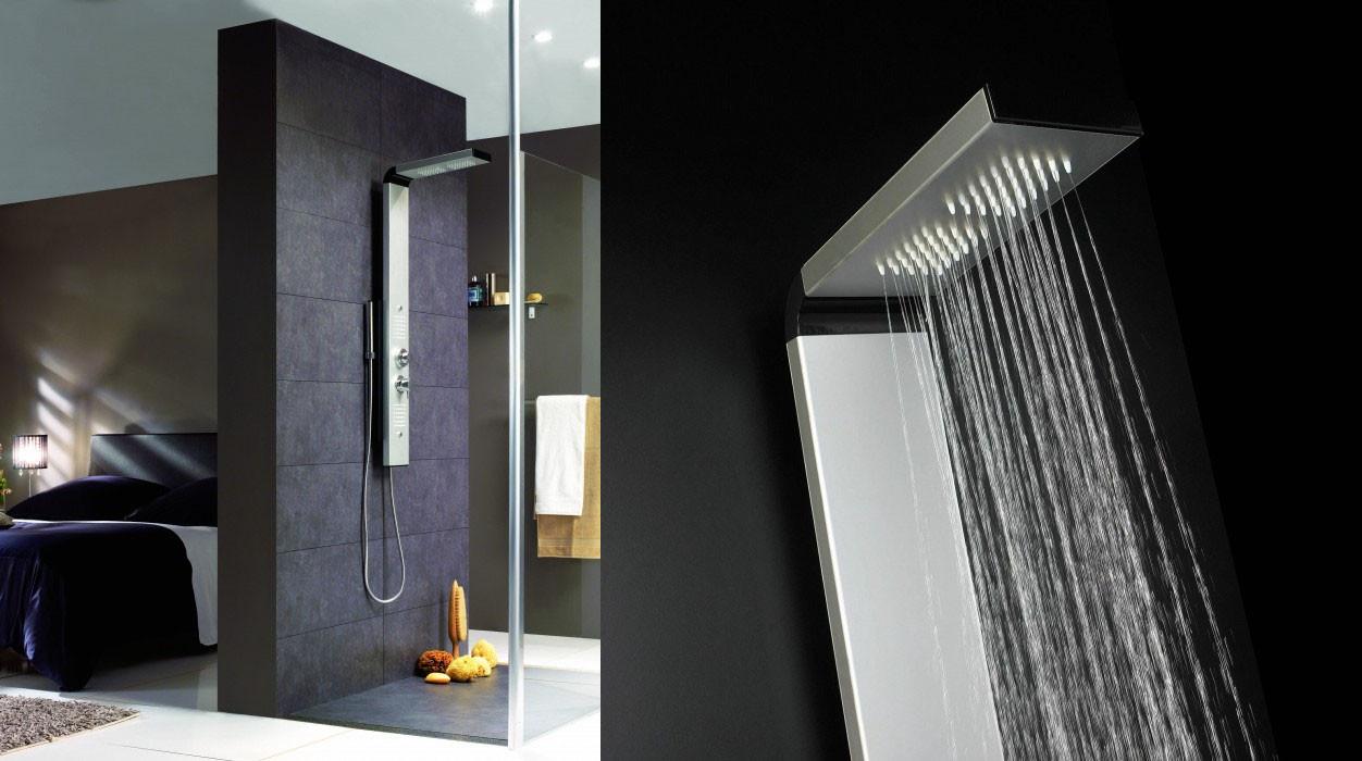 vf confort colonnes de douche. Black Bedroom Furniture Sets. Home Design Ideas