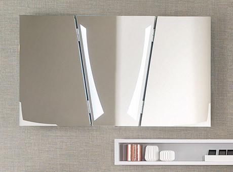 Miroir tridimensionnel avec éclairage - 800 euros TTC