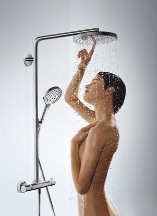 CROMETTA Showerpipe S240 1jet