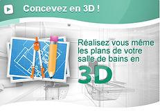 Conception 3D Salle de Bains