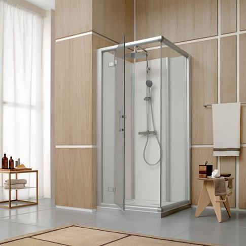 ACCESS Cabine de douche accès de face