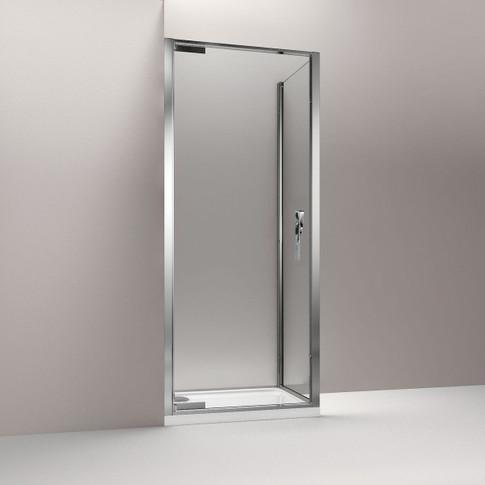 TORSION Porte pivotante + paroi laterale fixe