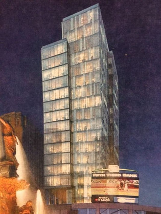 City waiting on big Fountain Place plan