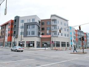 Northside fills big hole in business district