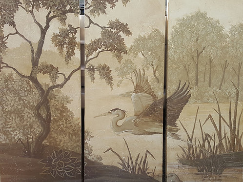 """Fresco"" Heron Panels"