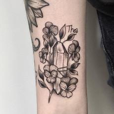 Crystal Among Lilacs