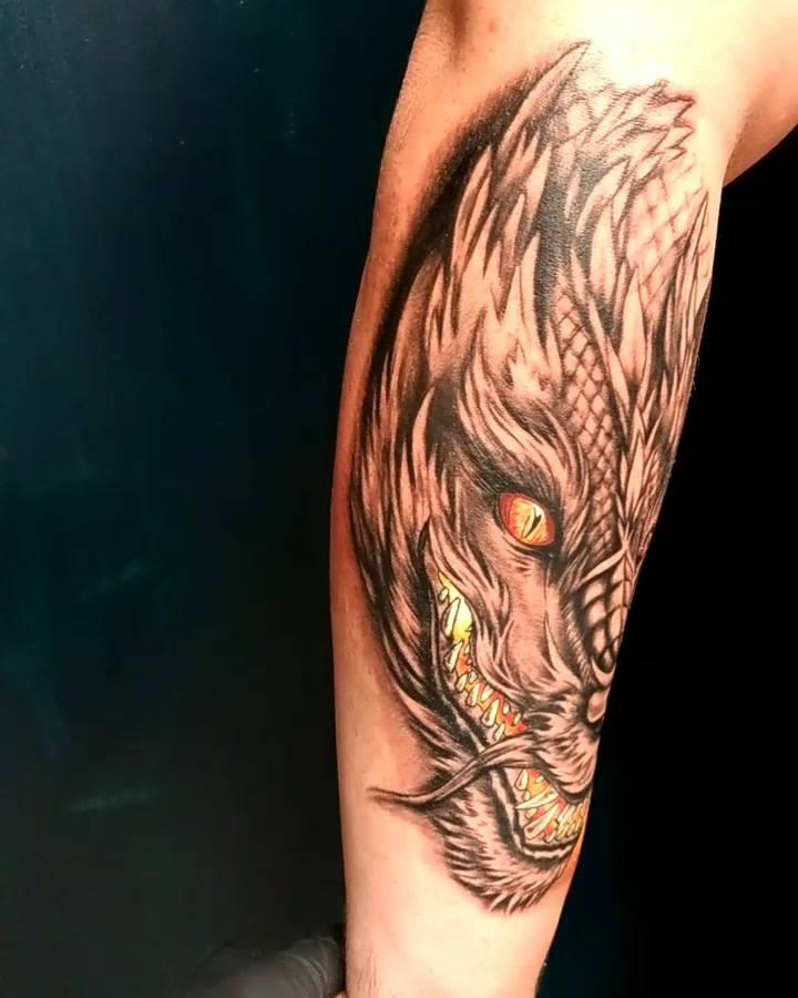 Custom, no filter dragon