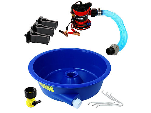Blue Bowl Gold Concentrator Kit