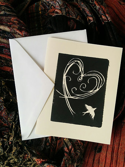 Letterpress Printed Linocut Greeting Cards (Date TBA)