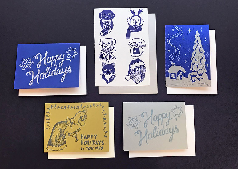 4-pack of cards - your choice of designs!
