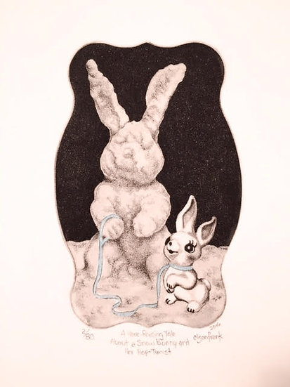 A Hare-Raising Tale About a Snow Bunny...