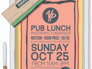 Tickets are on SALE for our PUB LUNCH Fundraiser
