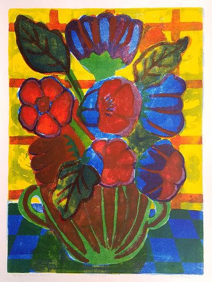 John Snow - Bouquet Green Bowl