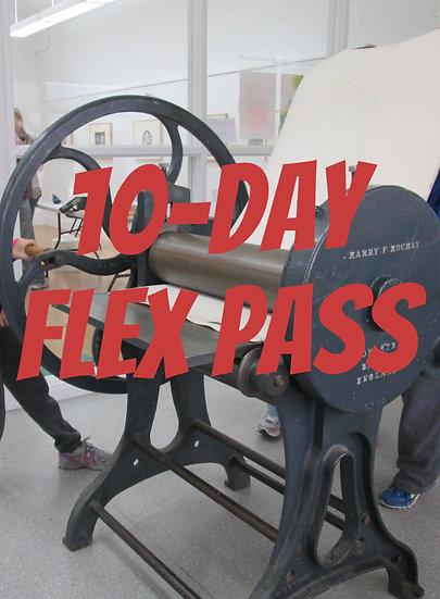 10-DAY Flex pass