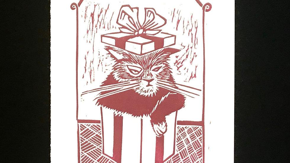 Printed Card (Cat)