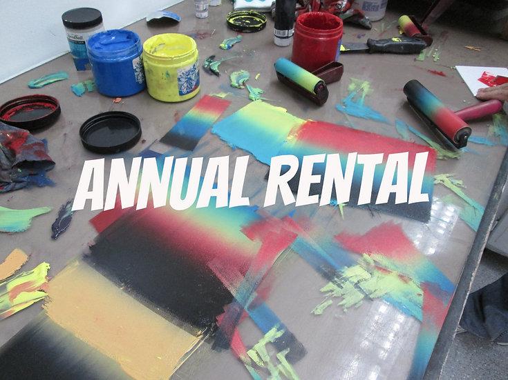 ANNUAL Rental Fees